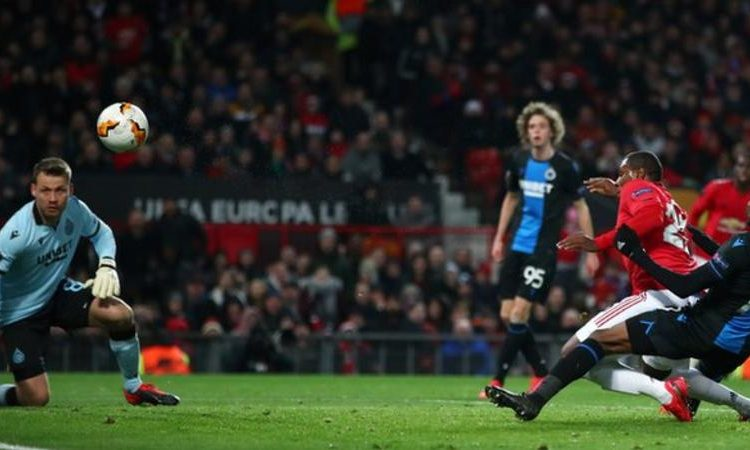 Odion Ighalo scored his first goal for Manchester United as they reached the Europa League last 16 (Image credit: Getty Images)