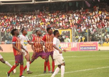Kotoko recently played at the Accra Sports Stadium when they beat Hearts of Oak 2-1