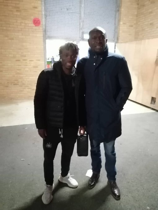 Akonnor met with Christian Atsu earlier this month