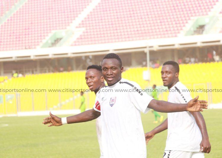 Inter Allies forward, Victorien Adebayor