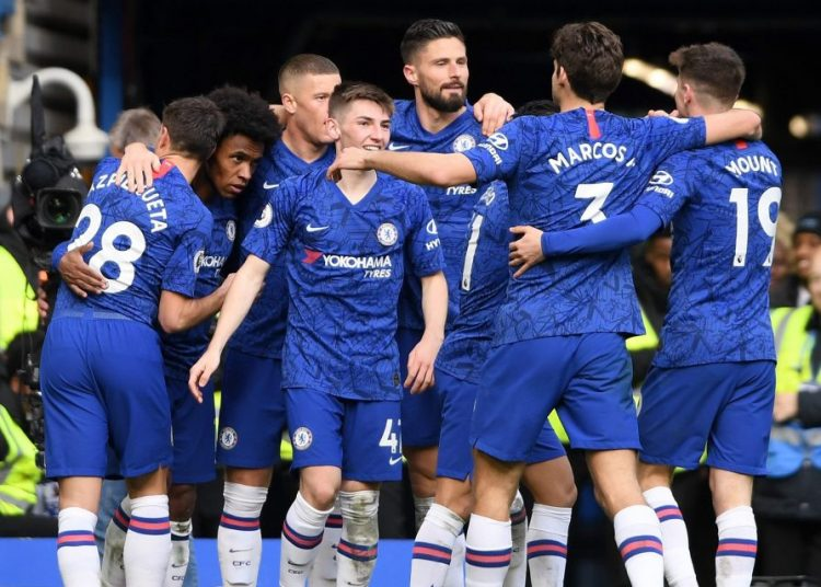GETTY IMAGES - GETTY - Chelsea ran out comfortable winners at Stamford Bridge