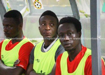 Felix Annan on the bench for Asante Kotoko