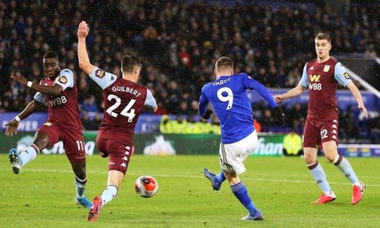 The last Premier League game before shutdown was Leicester's 4-0 win over Aston Villa on 9 March (Image credit: PA Media)