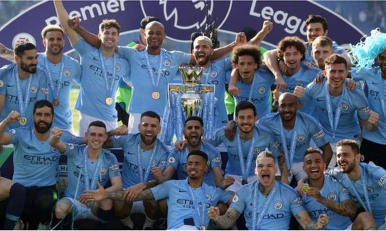Manchester City won the Premier League title in 2018-19 (Image credit: Getty Images)