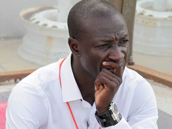 Coach Mas-Ud Didi Dramani of Asanti Kotoko at the Glo Premier League ©Christian Thompson/BackpagePix