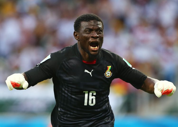 FORTALEZA, BRAZIL - JUNE 21:  Fatawu Dauda of Ghana celebrates a goal during the 2014 FIFA World Cup Brazil Group G match between Germany and Ghana at Castelao on June 21, 2014 in Fortaleza, Brazil.  (Photo by Martin Rose/Getty Images)