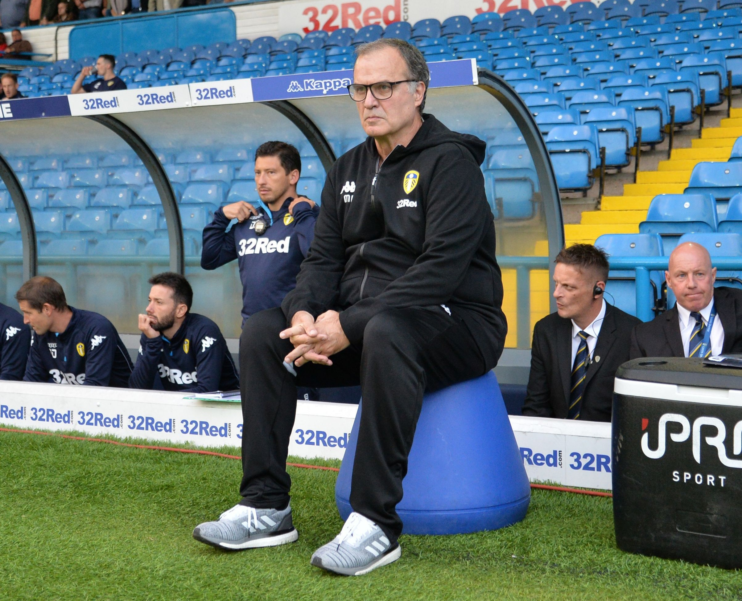 REVEALED: The reason why Marcelo Bielsa sits on buckets during football  games – Citi Sports Online