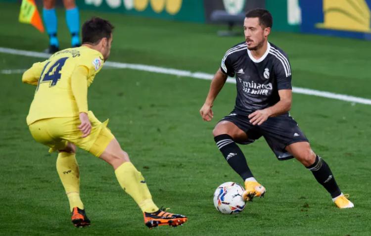 Real Madrid, Eden Hazard. (Photo by Alex Caparros/Getty Images)