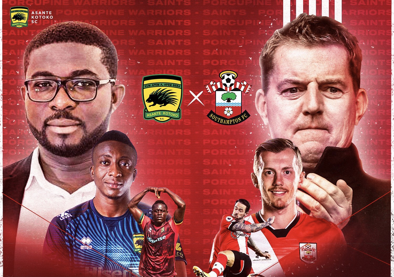 Asante Kotoko announce groundbreaking partnership with Southampton FC –  Citi Sports Online