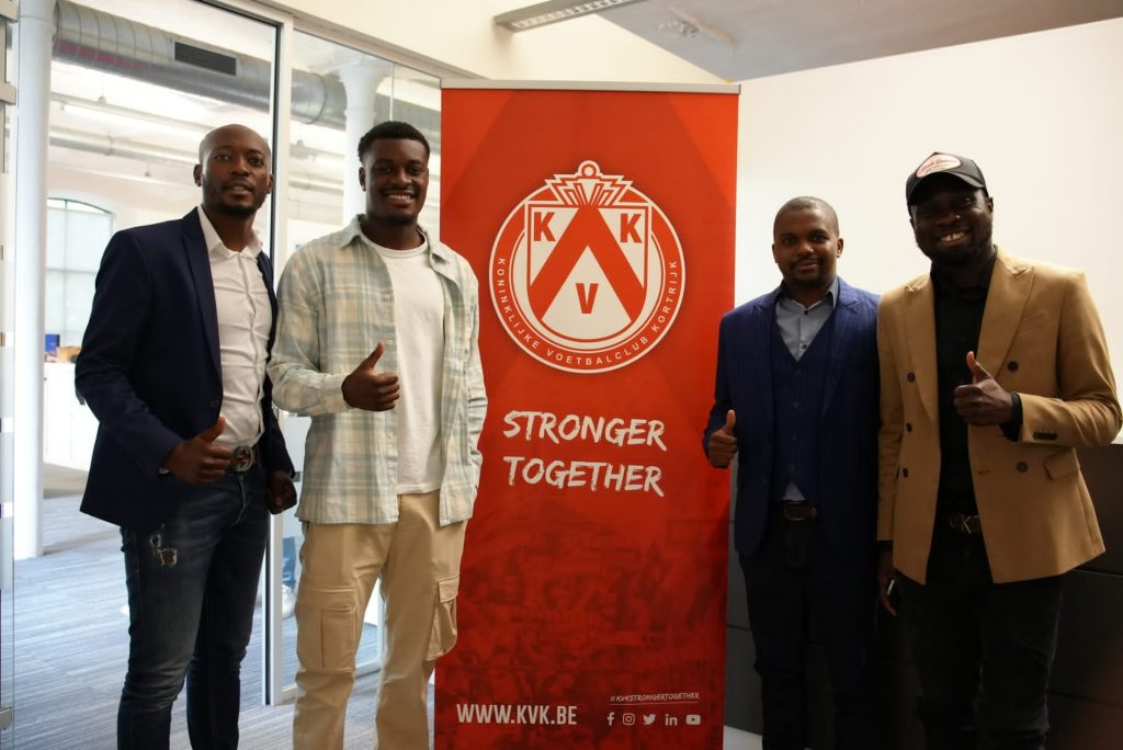 C.K. Akonnor's son joins Belgian club. 49