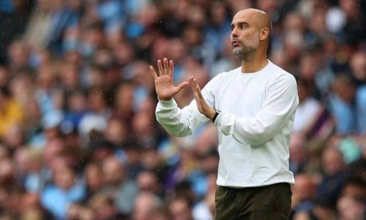 Pep Guardiola has won three Premier League titles with Man City (Image credit: Getty Images)