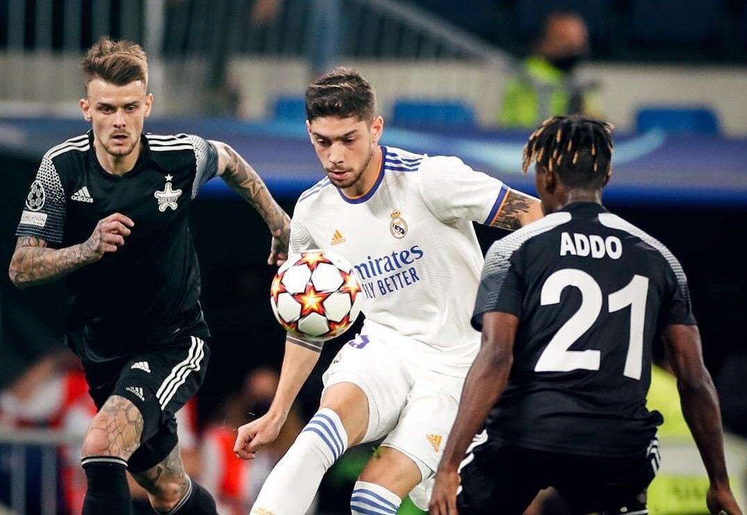 Ghana's Edmund Addo dominates Madrid's superstar midfield as Sheriff  Tiraspol shock Bernabeu – Citi Sports Online