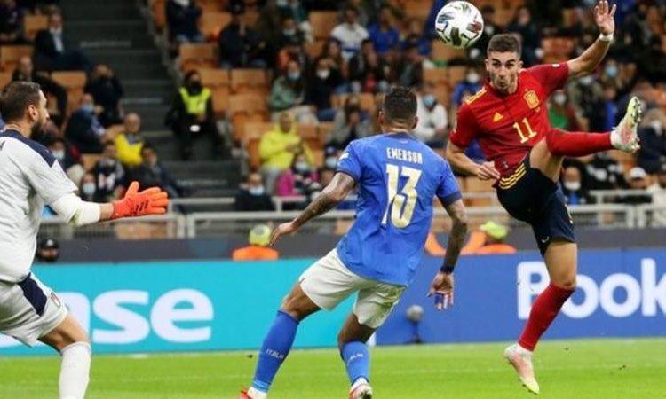Ferran Torres has scored 11 goals for Spain since 1 September 2020 (Image credit: EPA)