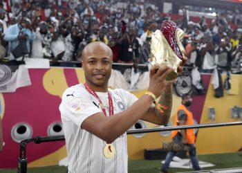 (Image credit: Andre Ayew on Twitter)